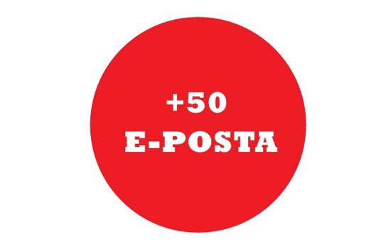 +25 E-Posta Adresi (1 YIL) resmi