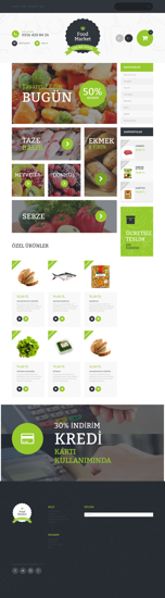 Picture of FOOD MARKET E-COMMERCE SITE