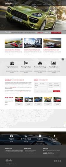 Picture of AUTOMOTIVE CAR WEBSITE