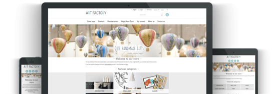 Picture of ARTFACTORY E-COMMERCE PACKAGE