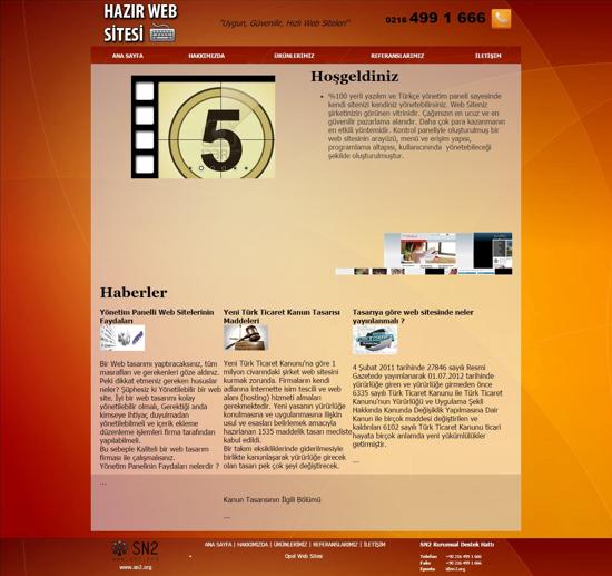 Hazır Web Sitesi resmi