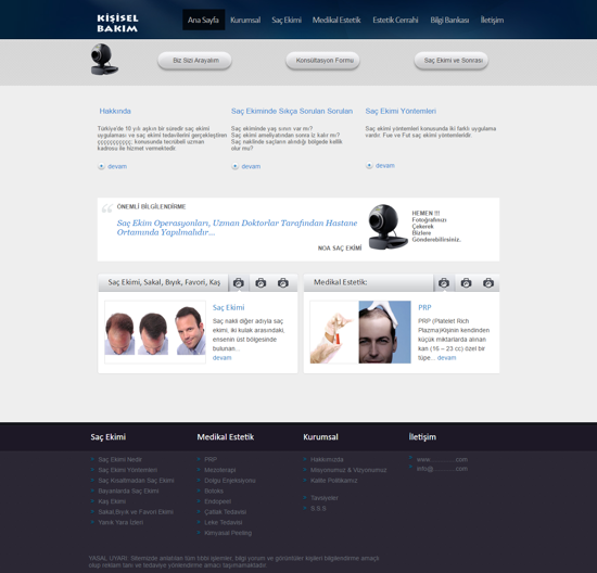 Picture of PERSONAL CARE WEBSITE