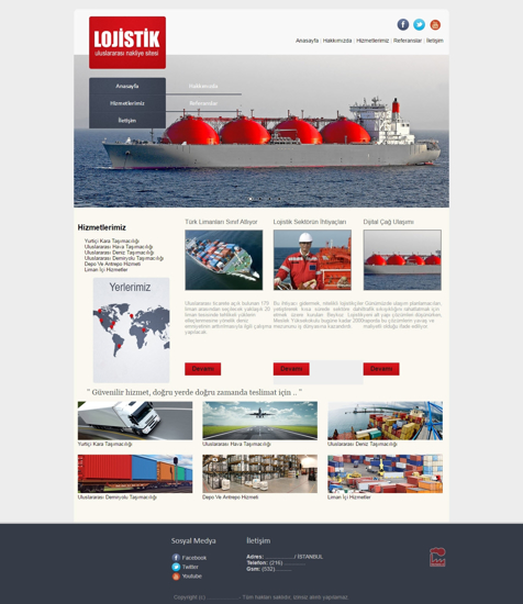 Picture of LOGISTICS & TRANSPORTATION WEBSITE