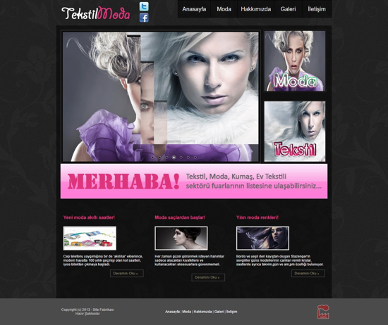 Picture of FASHION WEBSITE