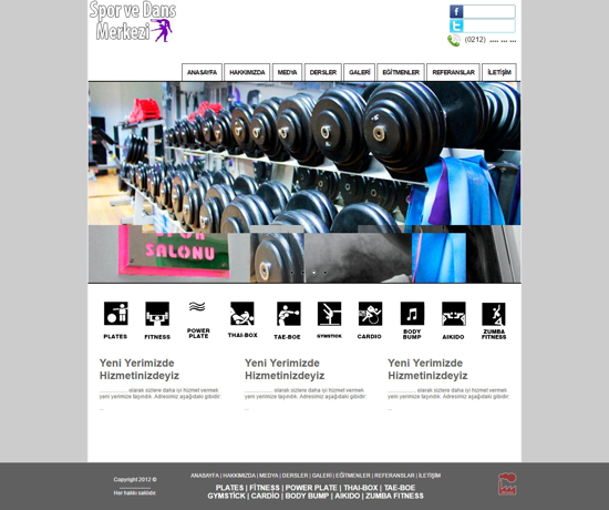 Picture of SPORTS AND DANCE WEBSITE