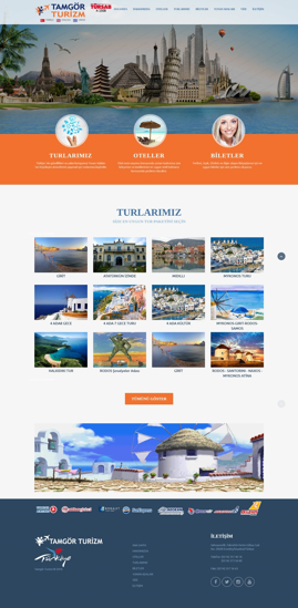 Picture of TOURISM COMPANY WEBSITE