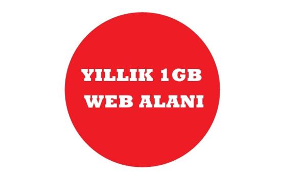 Picture of Yıllık 1 GB Web Alanı